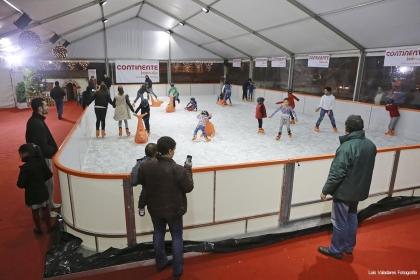 Âncora: Pista de gelo abre portas este sábado - Organização espera ultrapassar os 10 mil visitantes