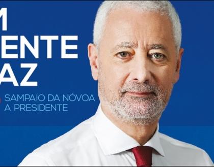 Presidenciais: Sampaio da Nóvoa vai realizar périplo pelo Vale do Minho no próximo sábado