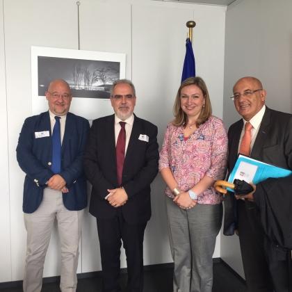 Viana: Presidente da Câmara reuniu com gabinete da Comissária Europeia da Política Regional
