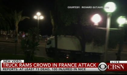 França/Nice: Camião parou a 30 metros de jovem de Paredes de Coura