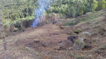 Caminha/S.João d Arga: Câmara executa trabalhos de limpeza para prevenção contra incêndios