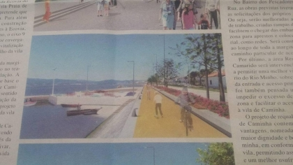 Caminha/Cais da Rua: PSD congratula-se com obra mas lembra que foi anunciada pelo anterior Executivo