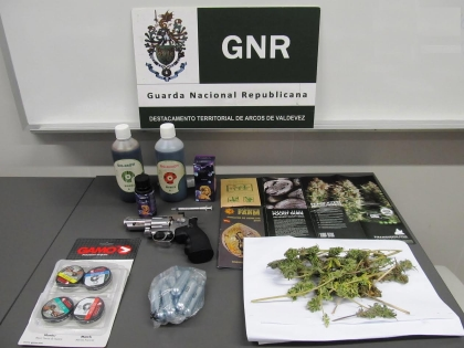 Ponte da Barca: Jovem detido por tráfico de droga - 10 doses de liamba apreendidas