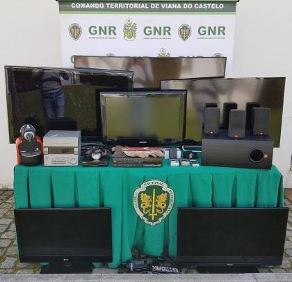 Viana: GNR deteve homem de 37 anos por furtos numa residência
