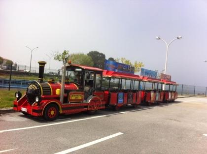 Caminha e A Guarda já estão ligados por comboio turístico