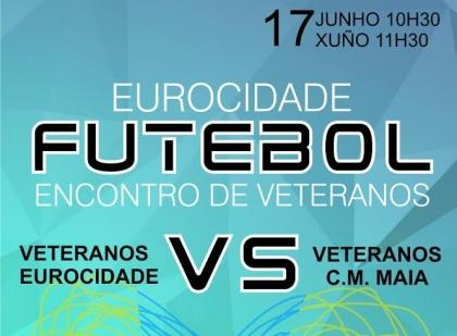 Valença/Tui: Futebol de Veteranos Eurocidade joga-se este sábado