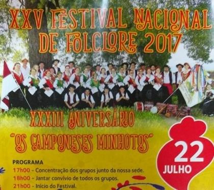 Valença/Cerdal: XXV Festival Nacional de Folclore realiza-se este sábado