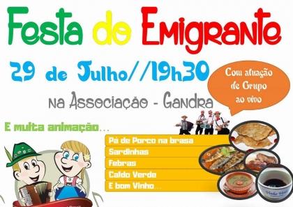 Valença: Associação de Gandra realiza Festa do Emigrante este sábado