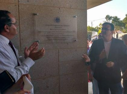 Monção: Novo Centro Pastoral de Cambeses inaugurado - Presidente da Junta emocionado na despedida